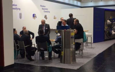 Worldwide feedback at the Powtech 2017
