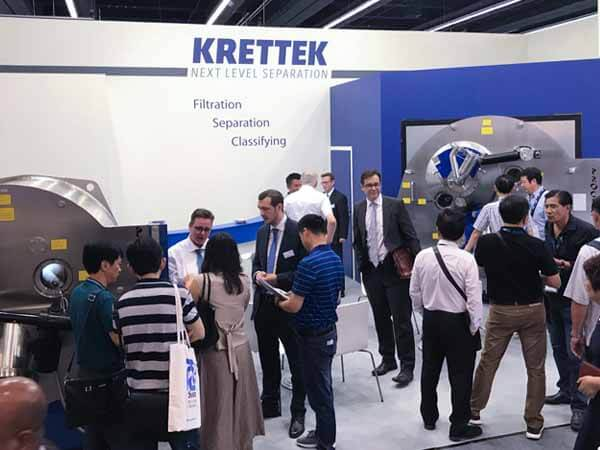 Solidity and compactness in the centrifuge construction at the ACHEMA 2018
