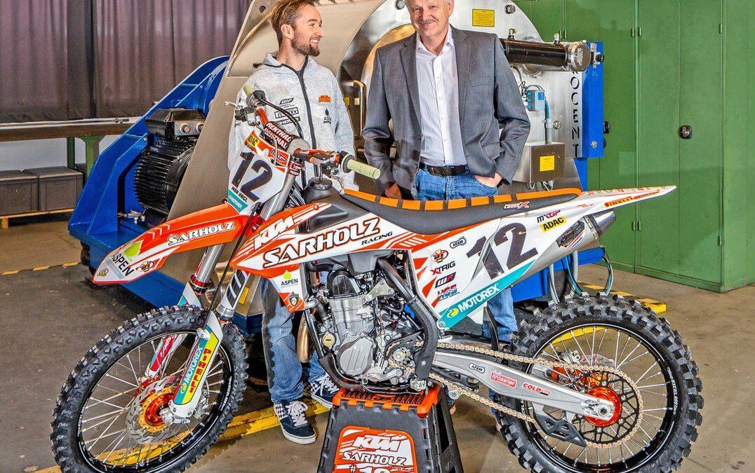Motorcross-Ass Max Nagl und die Zentrifugentechnologie