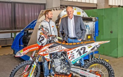 Motocross ace Max Nagl and the centrifuge technology