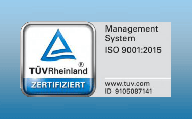 Krettek Separation GmbH once again certified acc. to DIN EN ISO 9001:2015 and DIN EN ISO 3834 through TÜV Rheinland
