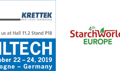 Centrifuge technology from Krettek at the Filtech and 4th Starch World