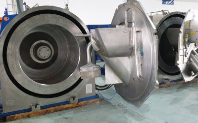 Centrifuge service and maintenance for Heine centrifuges and Buckau-Wolf horizontal peeler centrifuges