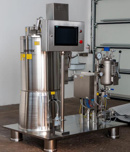 Pharma classifying centrifuge in hygienic design
